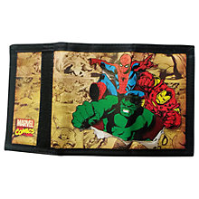 Buy Marvel Comic Wallet, Multi Online at johnlewis.com