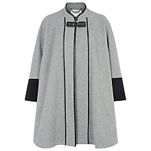 Buy Windsmoor Contrast Cape, Silver Grey Online at johnlewis.com
