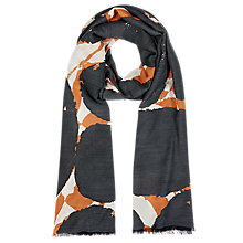 Buy Windsmoor Oversized Spot Scarf, Multi Dark Online at johnlewis.com