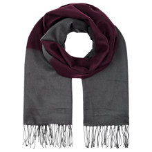 Buy Windsmoor Herringbone Detail Tassel Scarf Online at johnlewis.com
