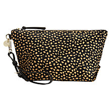 Buy Jigsaw Eliza Pouch, Taupe Online at johnlewis.com