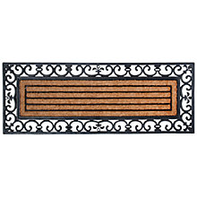 Buy Fallen Fruits Patio Rubber & Coir Doormat, L120 x W45cm Online at johnlewis.com