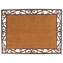 Buy Fallen Fruits Iron Frame and Coir Doormat, L75 x W55cm Online at johnlewis.com