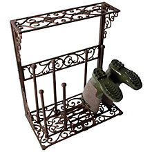 Buy Fallen Fruits Large Iron Boot Rack Online at johnlewis.com