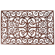 Buy Fallen Fruits Iron Rectangle Doormat, L72 x W46cm Online at johnlewis.com