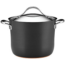 Buy Anolon Nouvelle Copper Stockpot, 24cm Online at johnlewis.com