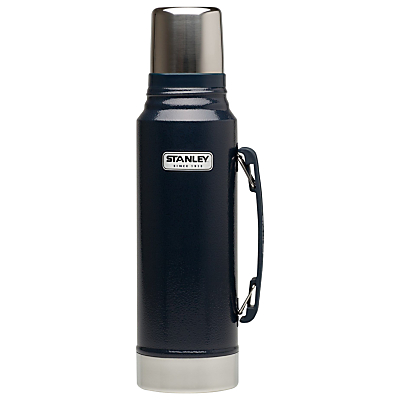 Stanley Classic Vacuum Flask, Hammertone Navy, 1.0L