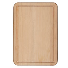 Buy John Lewis FSC Beech Chopping Board with Juice Groove Online at johnlewis.com