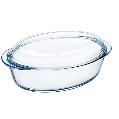 Pyrex Large Oval Casserole Dish, 3L