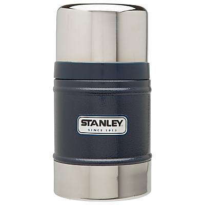 Stanley Classic Vacuum Food Jar, Hammertone Navy, 0.5L