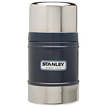 Buy Stanley Classic Vacuum Food Jar, Hammertone Navy, 0.5L Online at johnlewis.com