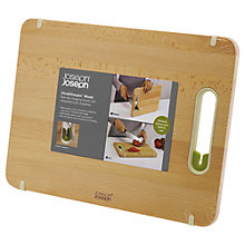 Buy Joseph Joseph Slice & Sharpen, Wood, Large Online at johnlewis.com