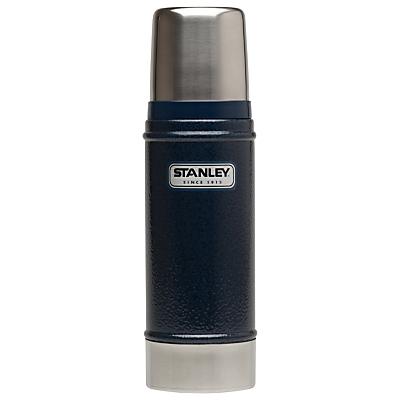 Stanley Classic Vacuum Flask, Hammertone Navy, 0.47L