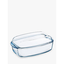 Buy Pyrex Glass Rectangular Casserole, 4.5L Online at johnlewis.com