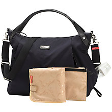 Buy Storksak Catherine Changing Bag, Navy Online at johnlewis.com