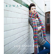 Buy Rowan Easy Winter Knits Book by Martin Storey Knitting Book Online at johnlewis.com