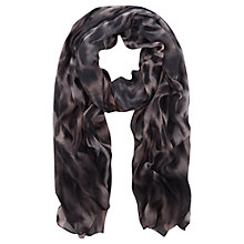 Buy Mint Velvet Pia Print Scarf, Leopard Online at johnlewis.com