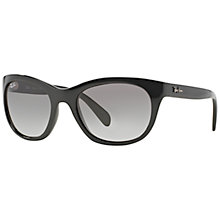 Buy Ray-Ban RB4216 Oval Sunglasses, Havana Online at johnlewis.com