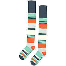 Buy Seasalt Deckchair Sailor Stripe Knee High Socks Online at johnlewis.com