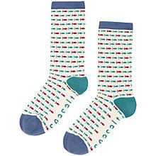 Buy Seasalt Sailor Fish Ankle Socks Online at johnlewis.com