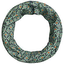 Buy Seasalt Flower Tile Handyband Scarf, Navy/Green Online at johnlewis.com