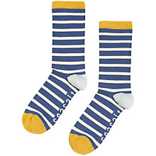Buy Seasalt Sailor Stripe Organic Cotton Ankle Socks Online at johnlewis.com