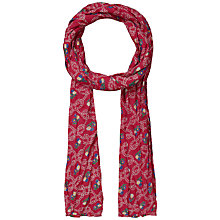 Buy Seasalt Ropework Cotton Scarf, Red Online at johnlewis.com