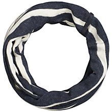 Buy Seasalt Breton Handyband Snood, Navy Online at johnlewis.com