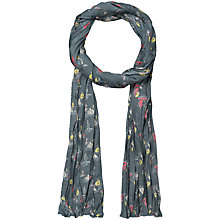 Buy Seasalt Brushboats Cotton Scarf, Blue Online at johnlewis.com