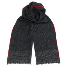 Buy Jigsaw Stripe Selvedge Scarf, Indigo Online at johnlewis.com