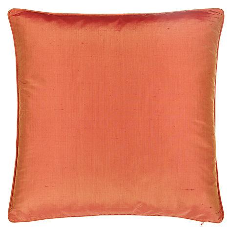 buy john lewis silk cushion john lewis. Black Bedroom Furniture Sets. Home Design Ideas