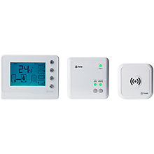 Buy Scottish Gas Hive Active Heating & Hot Water Connected Thermostat with Professional Installation Online at johnlewis.com