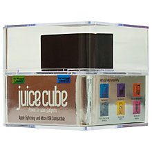 Buy Juice Cube Lightning, Emergency Mobile Charger Online at johnlewis.com