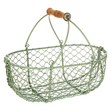 Buy John Lewis Croft Collection Wire Basket Online at johnlewis.com