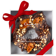 Buy Hotel Chocolat Cookie & Caramel Wreath, 100g Online at johnlewis.com
