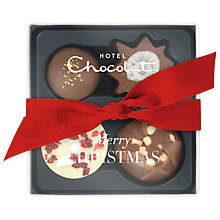 Buy Hotel Chocolat Mini Christmas Selection, 45g Online at johnlewis.com