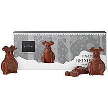 Buy Hotel Chocolat Milk Chocolate Tiddly Reindeer, 85g Online at johnlewis.com