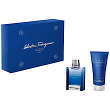 Buy Ferragamo Acqua Essenziale Blu Eau de Toilette Gift Set Online at johnlewis.com