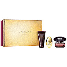 Buy Versace Crystal Noir Eau de Toilette Gift Set Online at johnlewis.com