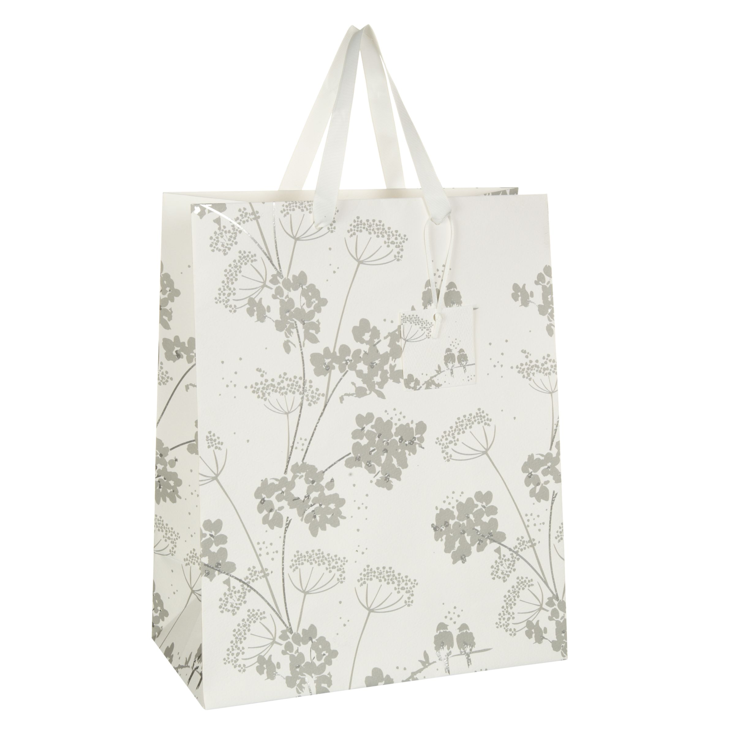 John Lewis Wedding Gift List Review : Buy John Lewis Silver Birds Gift Bag, Medium John Lewis