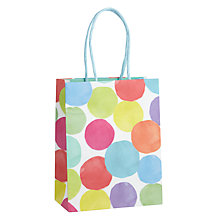 Buy John Lewis Bright Spot Gift Bag, Small Online at johnlewis.com