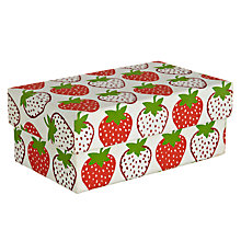 Buy Vivid Wrap Strawberry Gift Box, Small Online at johnlewis.com