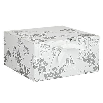 John Lewis Leaf Medium Gift Box
