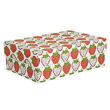 Buy Vivid Wrap Strawberry Gift Box, Extra Large Online at johnlewis.com