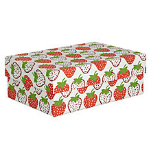Buy Vivid Wrap Strawberry Gift Box, Large Online at johnlewis.com
