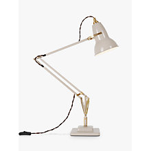 Buy Anglepoise 1227 Lamp, Brass/Taupe Online at johnlewis.com