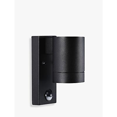 Nordlux Tin Maxi PIR Outdoor Sensor Wall Light, Black