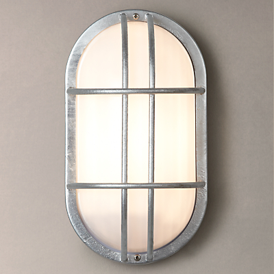 Garden Trading St Ives Bulkhead Galvanised Outdoor Light