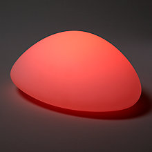 Buy John Lewis Outdoor Colour Changing Pebble LED Light, Dia.35cm Online at johnlewis.com