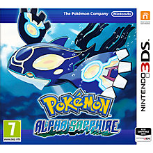 Buy Pokémon Alpha Sapphire, Nintendo 3DS Online at johnlewis.com